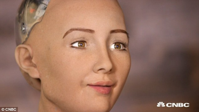 Ultra-lifelike humanoid Sophia, said in an interview with her creator David Hanson that 'she' would like to go to school, have a family…and destroy humans. The comments were made as Hanson questioned her about her aspirations and beliefs - and he claims robots like Sophia will be walking among us in just 20 years