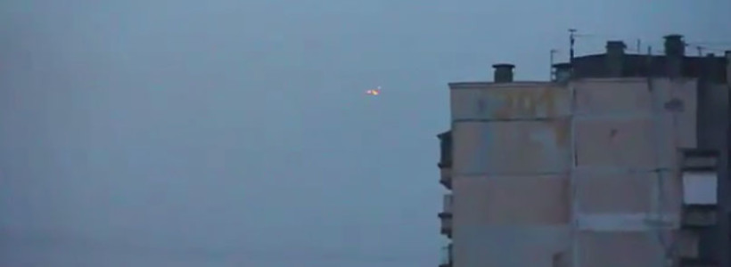 Triangle UFO Sighting Filmed over St Petersburg, Russia – 2016