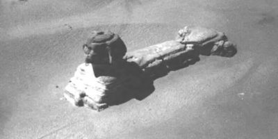 The secret entrance into the Great Sphinx of Giza