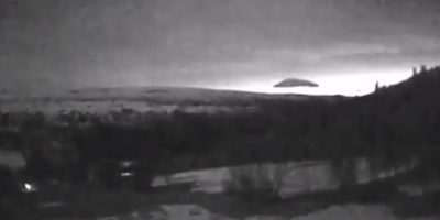 Triangle UFO Sighting Filmed Over Norway – 16th April 2016