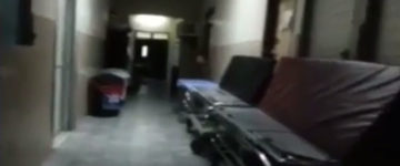Ghost sighting filmed In haunted hospital