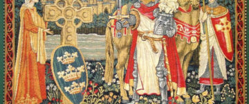 Is King Arthur buried in a field in Shropshire?