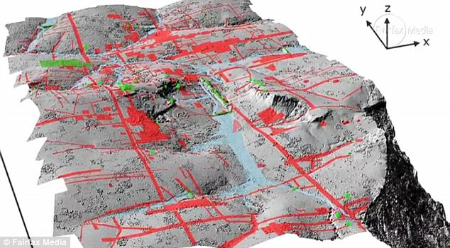 In 2012, the airborne Lidar system revealed a long-forgotten urban landscape in the jungle of Cambodia. The new research now reveals the sheer size of the ancient cities