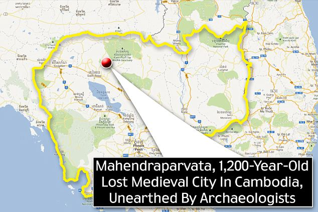 The new data also maps out the full extent of Mahendraparvata, information that will make future digs much more accurate and less time consuming