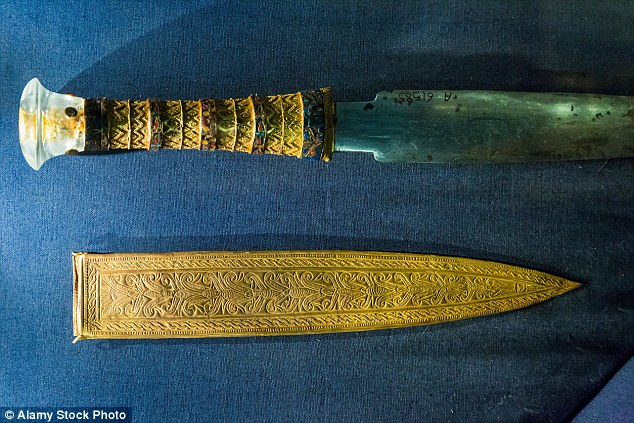 The dagger reveals the sophisticated metal working skills that existed at the time of Tutankhamun. The researchers say the iron blade shows particular mastery compared to other iron objects from the time made using metal obtained from meteorites