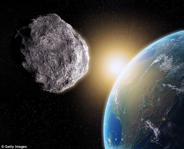 Astronomers in Brazil captured a close shave on Sunday, as an asteroid  between 80 and 180 feet wide passed between the Earth and the moon
