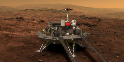 China unveils ambitious spacecraft that will be fired to Mars within FOUR YEARS