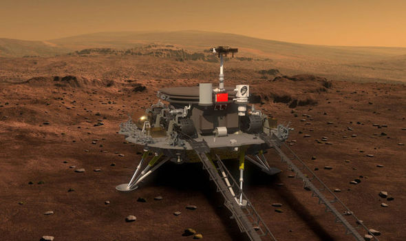The rover China will send to Mar
