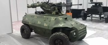 Meet Alrobot, the new remote controlled robotic tank