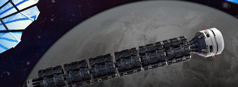 The solar express – Radical new space train to take man to Mars