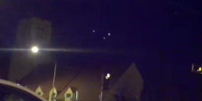 Triangle UFO sighting filmed over Albuquerque