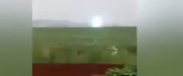 UFO sighting above a Siberian farm in Russia