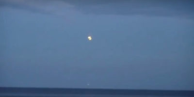 UFO Sighting filmed over Baltic Sea, Poland – August 21, 2016
