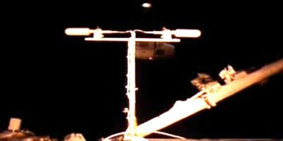 Are ALIENS monitoring the International Space Station
