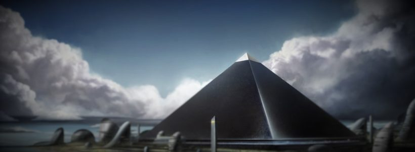There was a fourth BLACK PYRAMID at Giza
