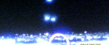 UFO activity recorded over Las Vegas, Nevada – 3rd September 2016