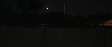 UFO sighting filmed over Chandler, Arizona – 19th August 2016