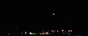Two bright UFOs filmed over Las Vegas, Nevada – 25th September 2016