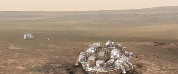 Conspiracy theorist claim Europe's lost Mars lander may have been SHOT DOWN by Nasa