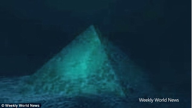 In 2012, a strange conspiracy theory emerged, suggesting that a huge crystal pyramid lies 2,000 metres below the Bermuda Triangle