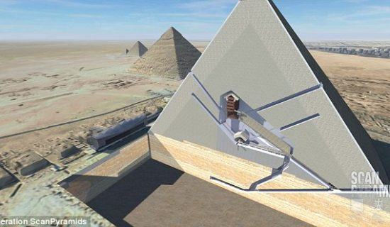 Researchers confirm TWO secret rooms inside the Great Pyramid of Giza