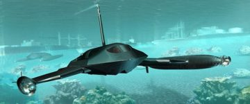 Stealth military machine can travel at high speed on water – then submerge to hit similar speeds under the sea
