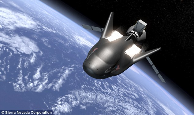 The UN has signed a deal with Sierra Nevada to send one of its Dream Chaser space planes (pictured) on a 14-day mission into low Earth orbit in 2021. It is the first time the UN has launched its own space mission and will allow developing nations to take part