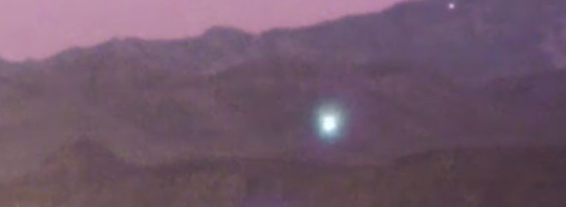 Bright UFO sighting filmed above Las Vegas, Nevada – 11th October 2016