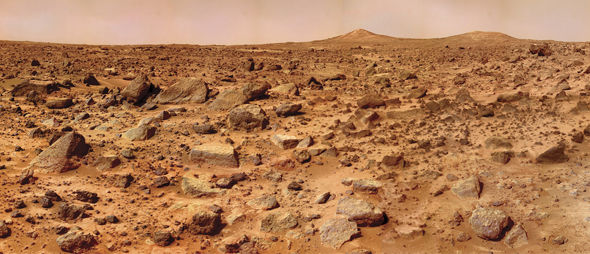 Life on Mars could be below the surface