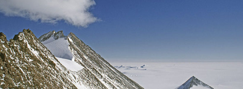 Possible man-made pyramid discovered in Antarctica