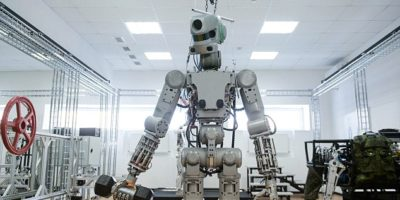 Meet Fyodor: Russia's space robot soon to be being blasted to the ISS