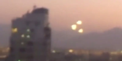 UFO Sighting Filmed Over Santiago Chile – December 17 2014