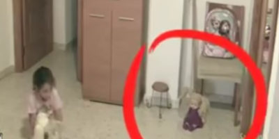 Paranormal Activity Filmed In Haunted House