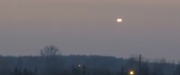UFO sighting filmed over Kampinos Forest, Poland – 1st Jan 2017