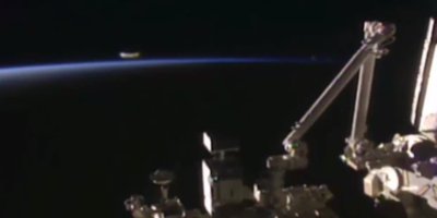 UFO sighting filmed from International Space Station