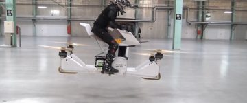 The world's first HOVERBIKE is here