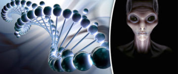 Human DNA 'was designed by aliens', say scientists