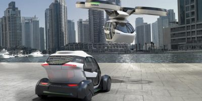 Airbus reveals the flying self driving 'transformer' taxi