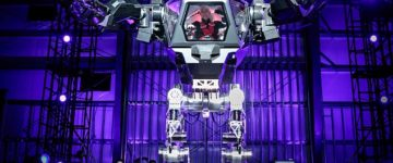 Amazing Mech Warrior Robot Unveiled At Secret Tech Conference