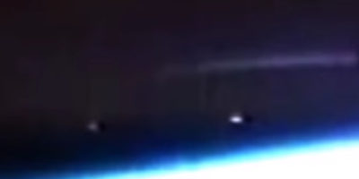 Huge UFO Filmed From The International Space Station