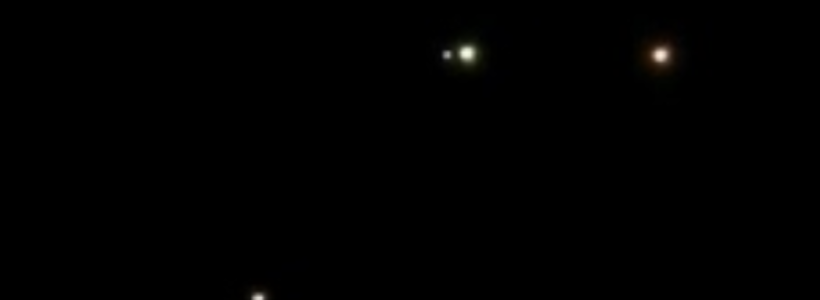 Multiple UFOs Filmed Flying Over Ypsilanti, Michigan