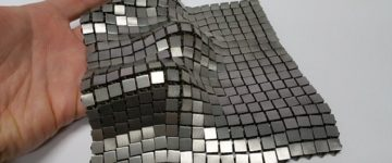 The hi-tech 'chainmail' armour suits NASA hopes could protect astronauts and spacecraft in deep space
