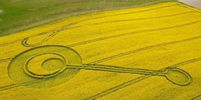 Crop Circle Discovered in Wiltshire, UK – April 16, 2017