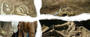 Ancient Giant's Skeleton and His Personal Artifacts Uncovered in Western Iran