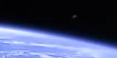 UFO sighting filmed from International Space Station – 4th April 2017