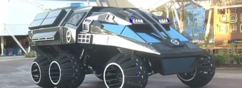 Nasa creates a bizarre Mars rover concept that looks like the Batmobile