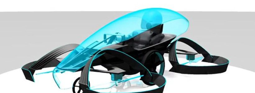 Meet Skydrive: Japanese flying CAR that could take to the skies next year
