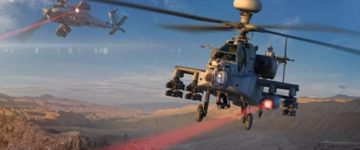US Army fires high-energy LASER from an Apache attack helicopter for the first time