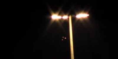 Triangle UFO sighting filmed in Russia