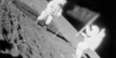 Footage has emerged that proves Russia beat Apollo 11 to the Moon